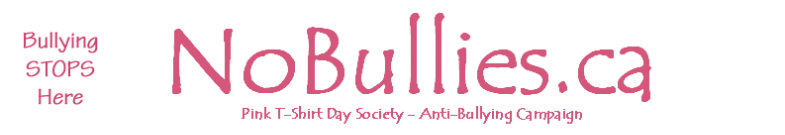 Buy A T-Shirt - Pink T-Shirt Day Anti Bullying Campaign